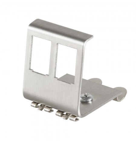 Logilink DIN Rail Adapter for 2x RJ45 Keystone Module MP0052