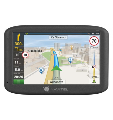 Navitel GPS Navigation MS600 800 480 pixels, GPS (satellite), Maps included