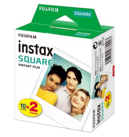 Fujifilm Instax Square Glossy Instant film (2x10pl) Quantity 20, 86 x 72 mm