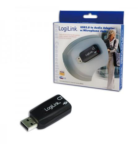 Logilink USB Audio adapter, 5.1 sound effect