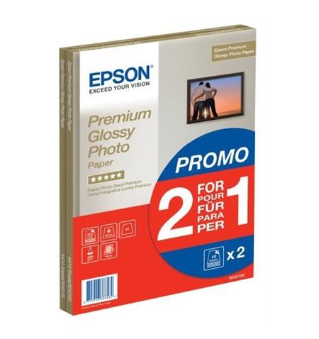Epson Premium Glossy Photo Paper 30 sheets Photo, White, A4, 255 g/m