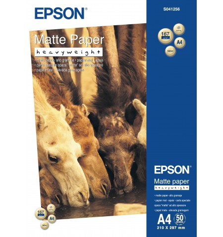 Epson Matte Paper Heavy Weight, DIN A4, 167g/m , 50 Sheets