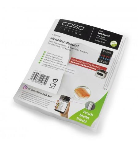 Caso Seal bags 01265 100 units, Transparent