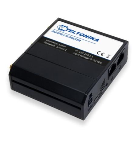 Teltonika Industrial Router 4G LTE mini-SIM RUT240 802.11n, 10/100 Mbit/s, Ethernet LAN (RJ-45) ports 2