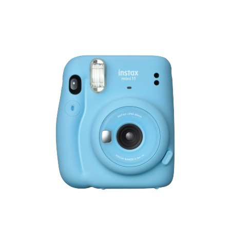 Fujifilm Instax Mini 11 Camera Focus 0.3 m - , Sky Blue