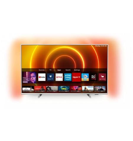 "Philips 65PUS7855/12 65"" (164 cm), Smart TV, Saphi, 4K UHD, 3840 x 2160 pixels, Wi-Fi, DVB-T/T2/T2-HD/C/S/S2, Light-silver"