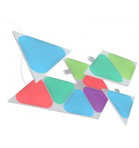Nanoleaf Shapes Triangles Mini Expansion Pack (10 panels) 1 x 0.54 W, 16M+ colours, 2.4GHz WiFi b/g/n