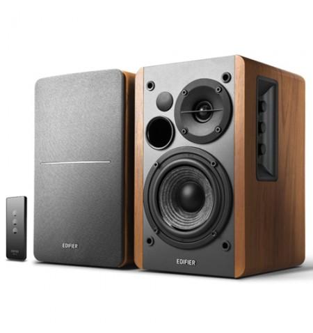 Edifier Studio 1280T Speaker type 2.0, 3.5mm, Grey/Wood, 42 W