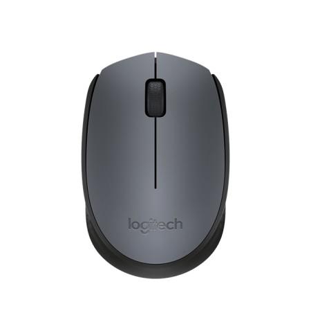 Logitech M170 Wireless Mouse, Black, Grey