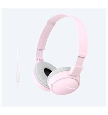 Sony MDRZX110APP.CE7 Headband/On-Ear, Microphone, Pink