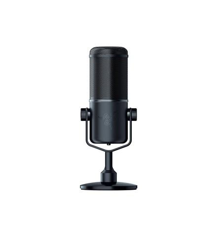 Razer Professional Grade Dynamic Streaming Microphone, Seiren Elite, Black, USB