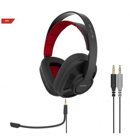 Koss Headphones GMR-545-AIR Headband/On-Ear, 3.5mm (1/8 inch), Microphone, Black, Noice canceling,
