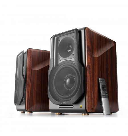 Edifier Wireless active speaker system S3000 PRO Balanced, analog, USB, optical and coaxial inputs, Bluetooth version 5.0, Brown