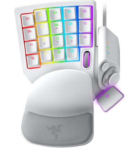 Razer Tartarus Pro Gaming Keypad, Wired, White