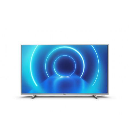 "Philips 58PUS7555/12 58"" (146 cm), Smart TV, Saphi, 4K UHD LED, 3840 x 2160 pixels, Wi-Fi, DVB-T/T2/T2-HD/C/S/S2, Silver"