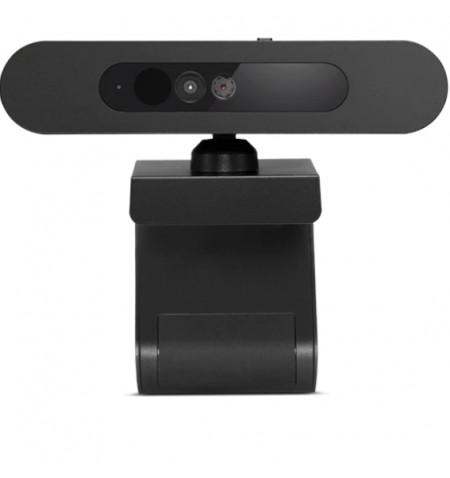 Lenovo Full HD Webcam 500 Black, USB-C, Windows Hello
