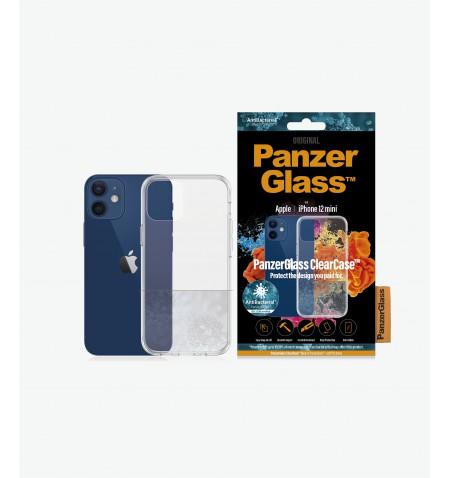 PanzerGlass Clear Case, Apple, For iPhone 12 mini, TPU, Transparent