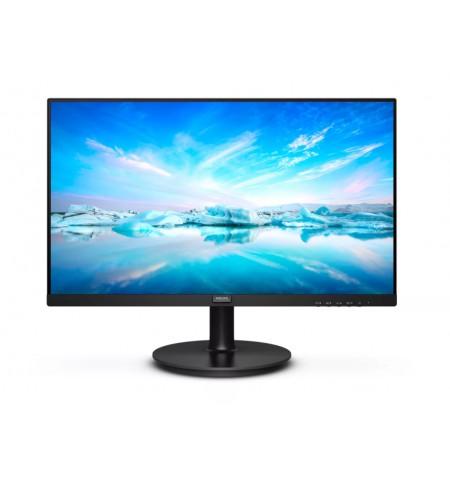Philips LCD Monitor 242V8LA/00 23.8 inch (60.5 cm), FHD, 1920 x 1080 pixels, VA, 16:9, Black, 4 ms, 250 cd/m , Headphone out, W-