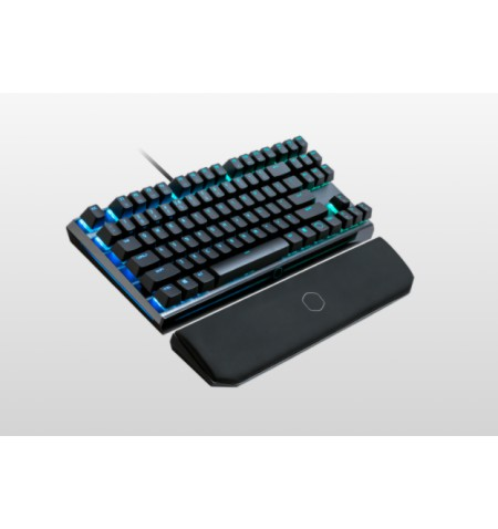 Cooler Master MK730 Gaming keyboard, Cherry MX, RGB LED light, US layout, Smoky Gunmetal Aluminum Brush, Wired, Red Switch, USB