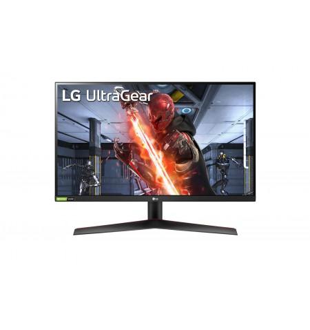 "LG UltraGear HDR Monitor 27GN800-B 27 "", IPS, QHD, 2560 x 1440 pixels, 16:9, 1 ms, 350 cd/m , Black/Red"