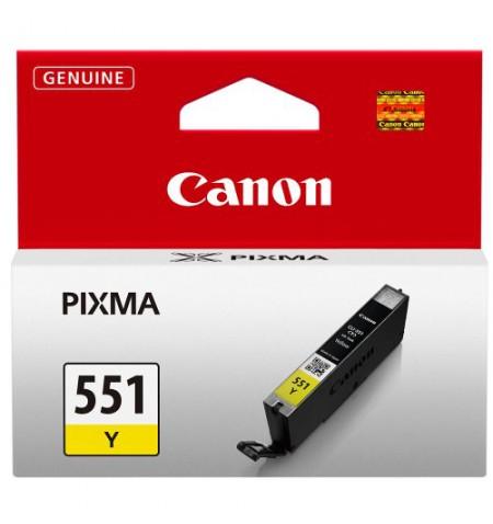 Canon CLI-551 Y Ink Cartridge, Yellow