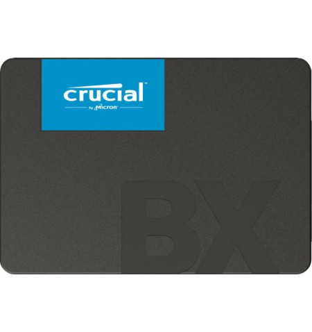 """Crucial BX500 240 GB, SSD form factor 2.5"""", SSD interface SATA, Write speed 500 MB/s, Read speed 540 MB/s"""