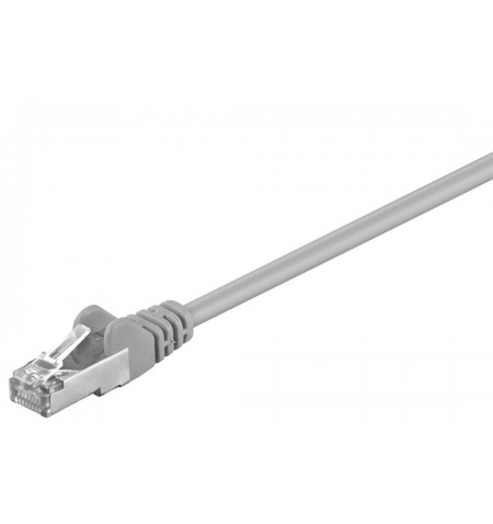 Goobay 50197 CAT 5e patchcable, F/UTP, grey, 15 m