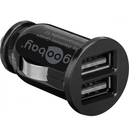 Goobay Dual USB car charger 58912 USB 2.0 port A, 3.1 A, 12 V
