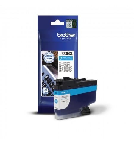 Brother High-yield Ink Cartridge LC3239XLC Ink, Cyan