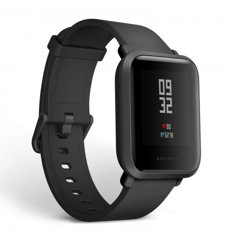 Amazfit Bip S Smart watch, GPS (satellite), Transflective Color Display, Touchscreen, Heart rate monitor, Activity monitoring 24