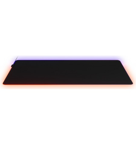 SteelSeries QcK Prism Cloth 3XL, Gaming mouse pad, Black