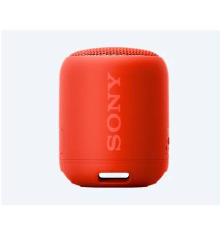 Sony Portable Bluetooth Speaker SRS-XB12R Red