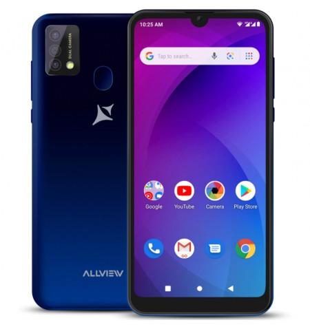 """Allview A20 Max Blue, 6.25 """", 1014 x 480, Cortex-A7 Quad-core, Internal RAM 1 GB, 16 GB, Micro SD, Dual SIM, Micro SIM, 3G, Main"""