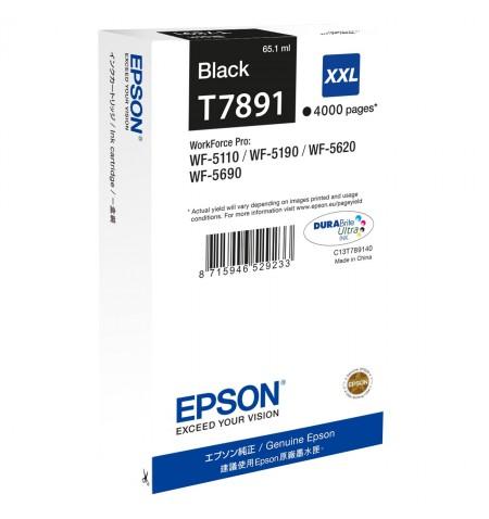 Epson T7891 XXL Ink Cartridge, Black