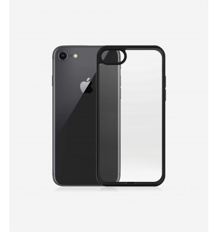 PanzerGlass Screen Protector, Iphone 7/8/se (2020), Tempered anti-aging glass, Black/Crystal Clear