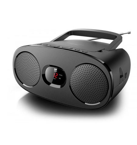 New-One RD306 Black, Portable radio CD player,