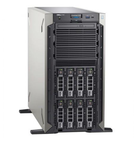 "Dell Server PowerEdge T340 Xeon E-2224/No RAM/No HDD/8x2.5"" (Hot-Plug)/PERC H330/iDrac9, Basic/1x495W PSU/No OS/3Y Basic NBD OnS"