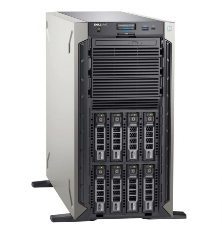 """Dell PowerEdge T340 Tower, Intel Xeon, E-2234, 3.6 GHz, 8 MB, 8T, 4C, UDIMM DDR4, 2666 MHz, No RAM, No HDD, Up to 8 x 3.5"""", Hot-"""