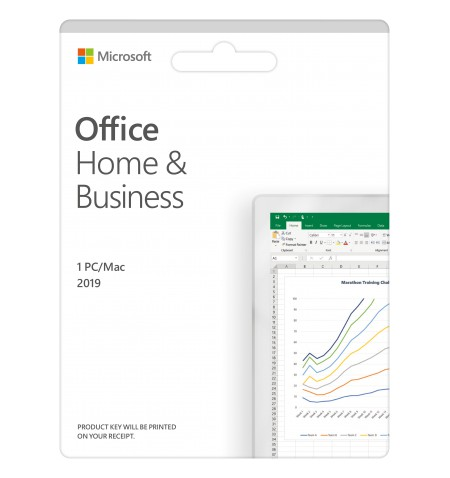 Microsoft Office Home and Business 2019 T5D-03309 One-time purchase, Estonian, Medialess, P6