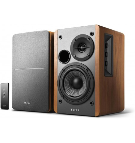 Edifier Powered Bookshelf Speakers SR1280TS Brown, Wireless connection