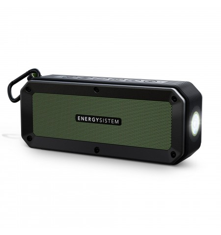 Energy Sistem Portable Speaker Outdoor Box Adventure Bluetooth, Wireless connection, Black/Green, -42 dB