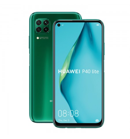 "Huawei P40 Lite Green, 6.4 "", IPS LCD, 1080 x 2310 pixels, Octa-core, Internal RAM 6 GB, 128 GB, NM SD, Dual SIM, Nano-SIM, 3G,"