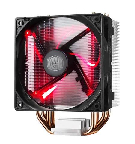 Cooler Master cooler HYPER 212 EVO Cooler Master Hyper 212 RED LED Universal cooler, 4 x 6mm heat-pipes, Intel 115X/1366/2011/20