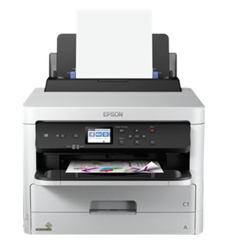 Epson Printer WF-C5290DW Colour, Inkjet, Printer, A4, Wi-Fi, Grey/ Black