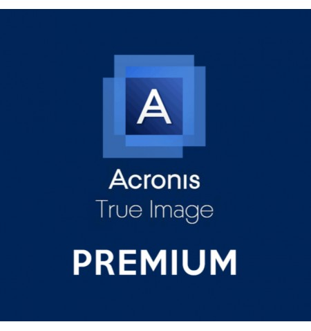 Acronis True Image Premium Protection Subscription, 1 year(s), 3 user(s), 1 TB Cloud Storage, ESD