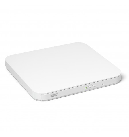 H.L Data Storage Ultra Slim Portable DVD-Writer GP90NW70 Interface USB 2.0, DVD R/RW, CD read speed 24 x, CD write speed 24 x, W