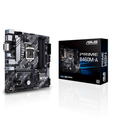 Asus PRIME B460M-A Memory slots 4, Processor family Intel, Micro ATX, DDR4, Processor socket LGA1200, Chipset Intel B