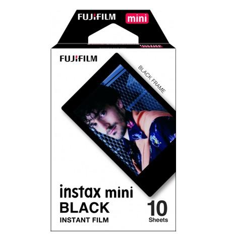 Fujifilm Instax Mini BLACK FRAME (10pl) Instant Film 54 x 86 mm