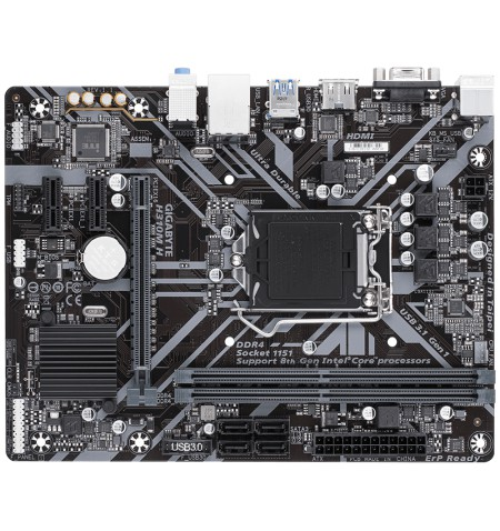 Gigabyte H310M H 1.1 Processor family Intel, Processor socket LGA1151, DDR4, Memory slots 2, Supported hard disk drive interface