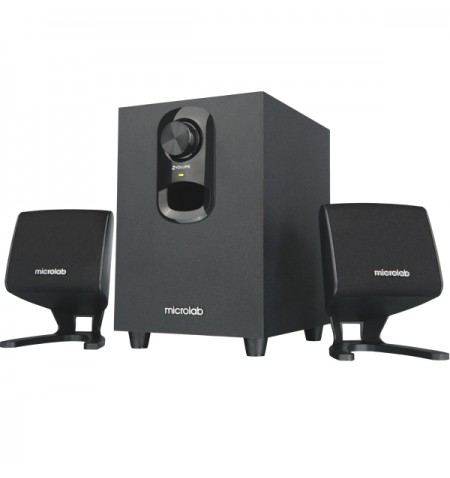 Microlab M-108 Speaker type 2.1, 3.5mm, Black, 11 W